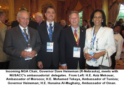 11NGA-SLC-ArabAmbosPRen - National U S -Arab Chamber of Commerce